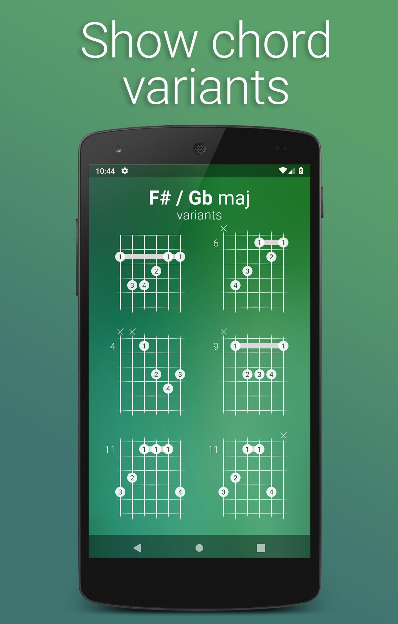 All Chords Guitar für Android   APK herunterladen
