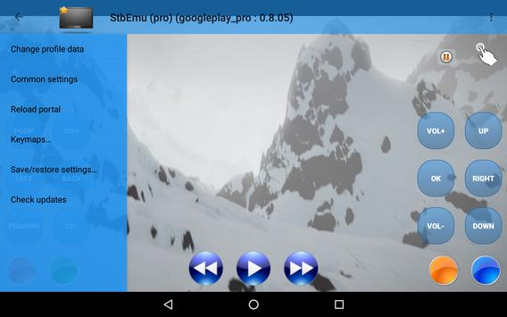 StbEmu screenshot 1