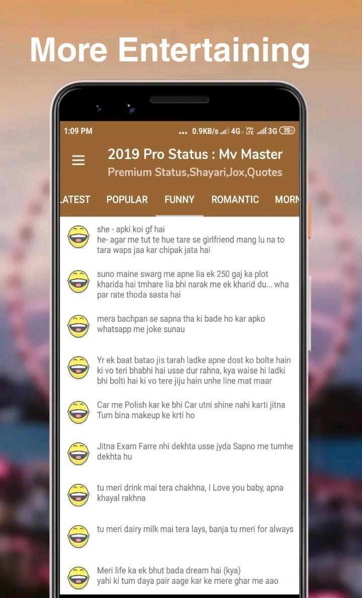 2019 Mv Status Master Hindi Shayariquotesjoks For