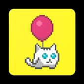 Flying Cat أيقونة