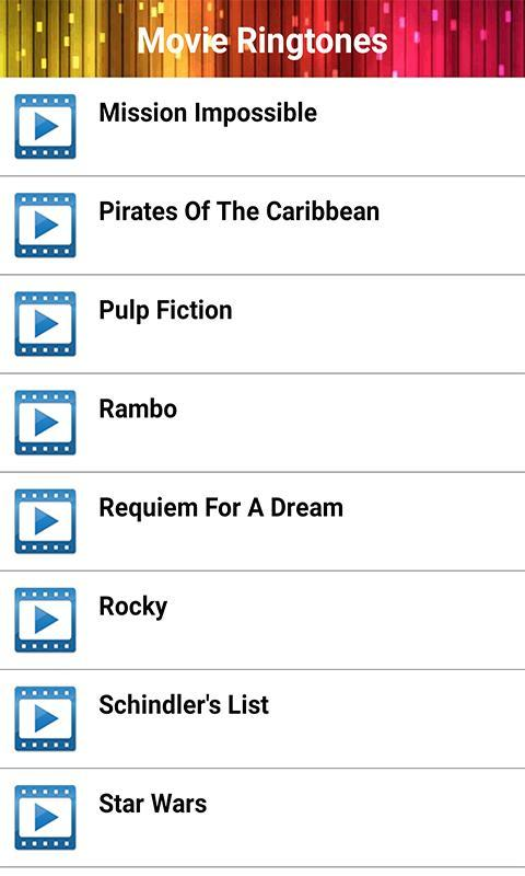 Movie Ringtones for Android - APK Download