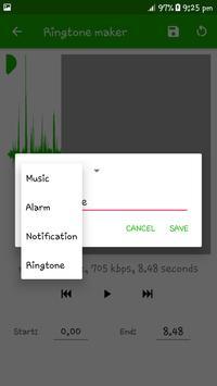 Ringtone Maker - Mp3 Editor and Mp3 Cutter ảnh chụp màn hình 2