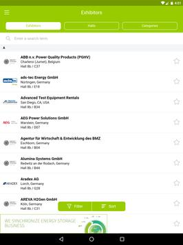 ENERGY STORAGE EUROPE App screenshot 6