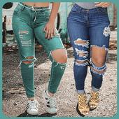 Girls Jeans Styles 2019 (Offline) icon