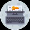 Moon Writer Pro Key-icoon