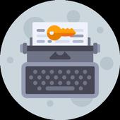 Moon Writer Pro Key icono