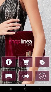SHOP LINEA poster