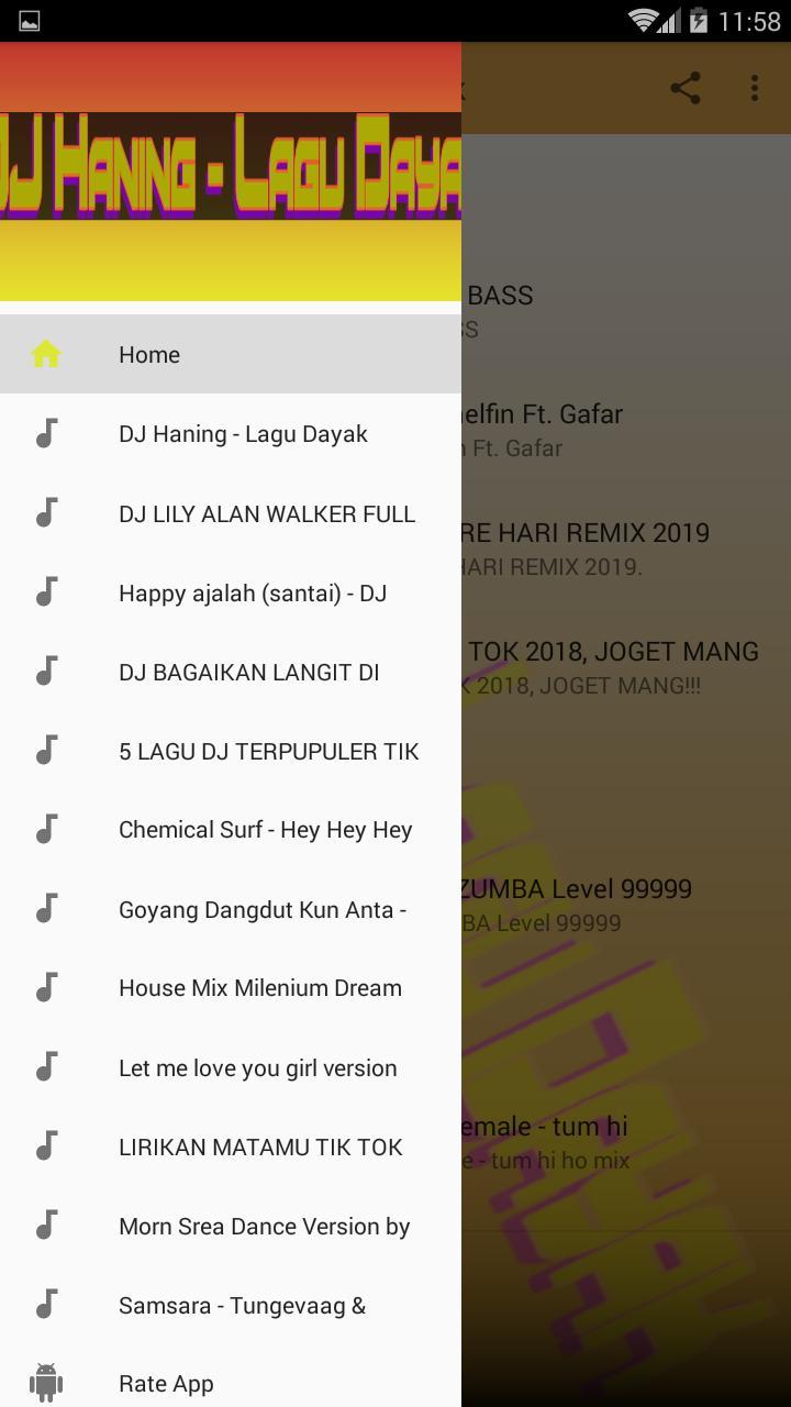 download lagu dj haning dayak full bass