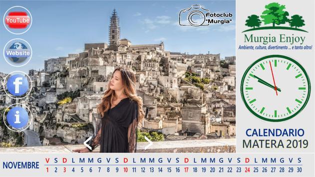 Matera2019: il calendario di Murgia Enjoy poster