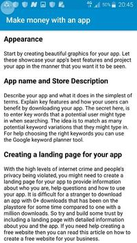 How to make money with an app screenshot 6