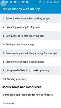 How to make money with an app screenshot 7