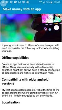 How to make money with an app screenshot 3