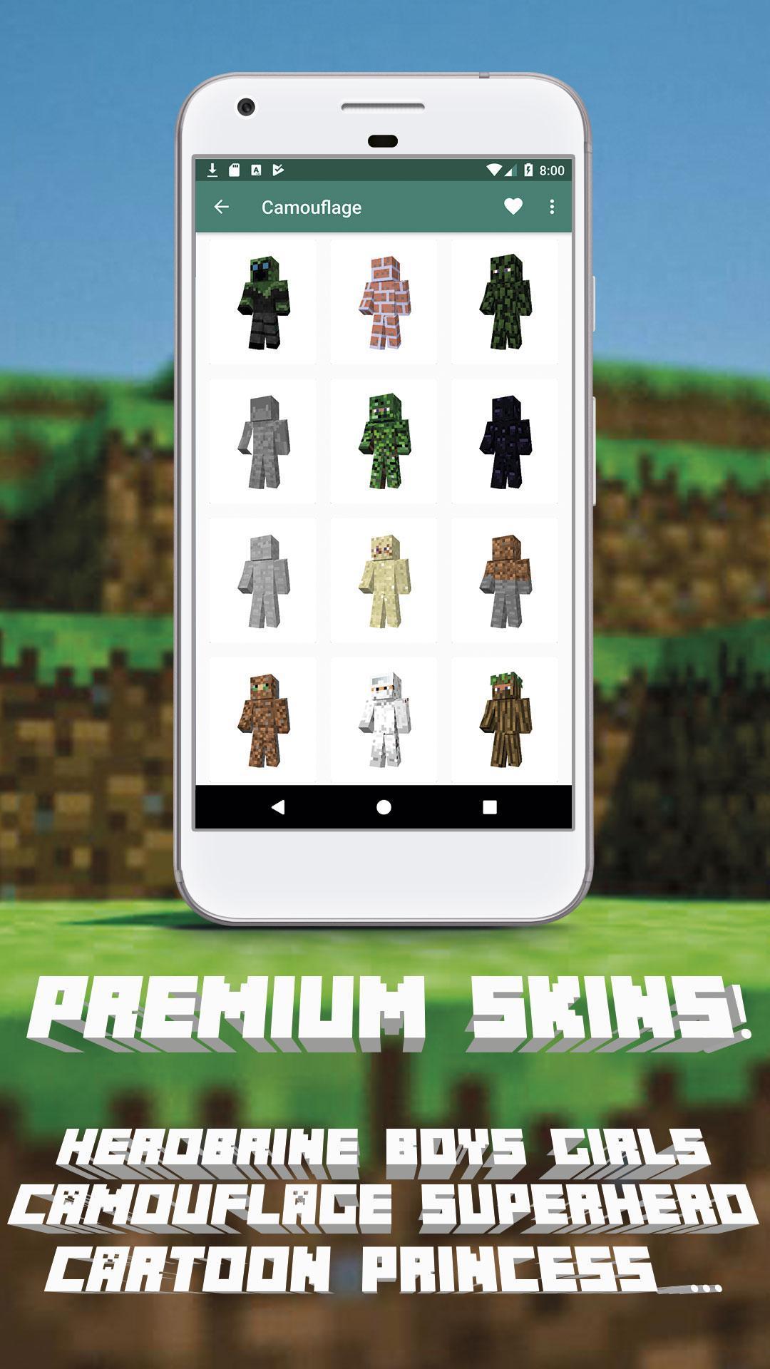 My Minecraft Skins para Android - APK Baixar
