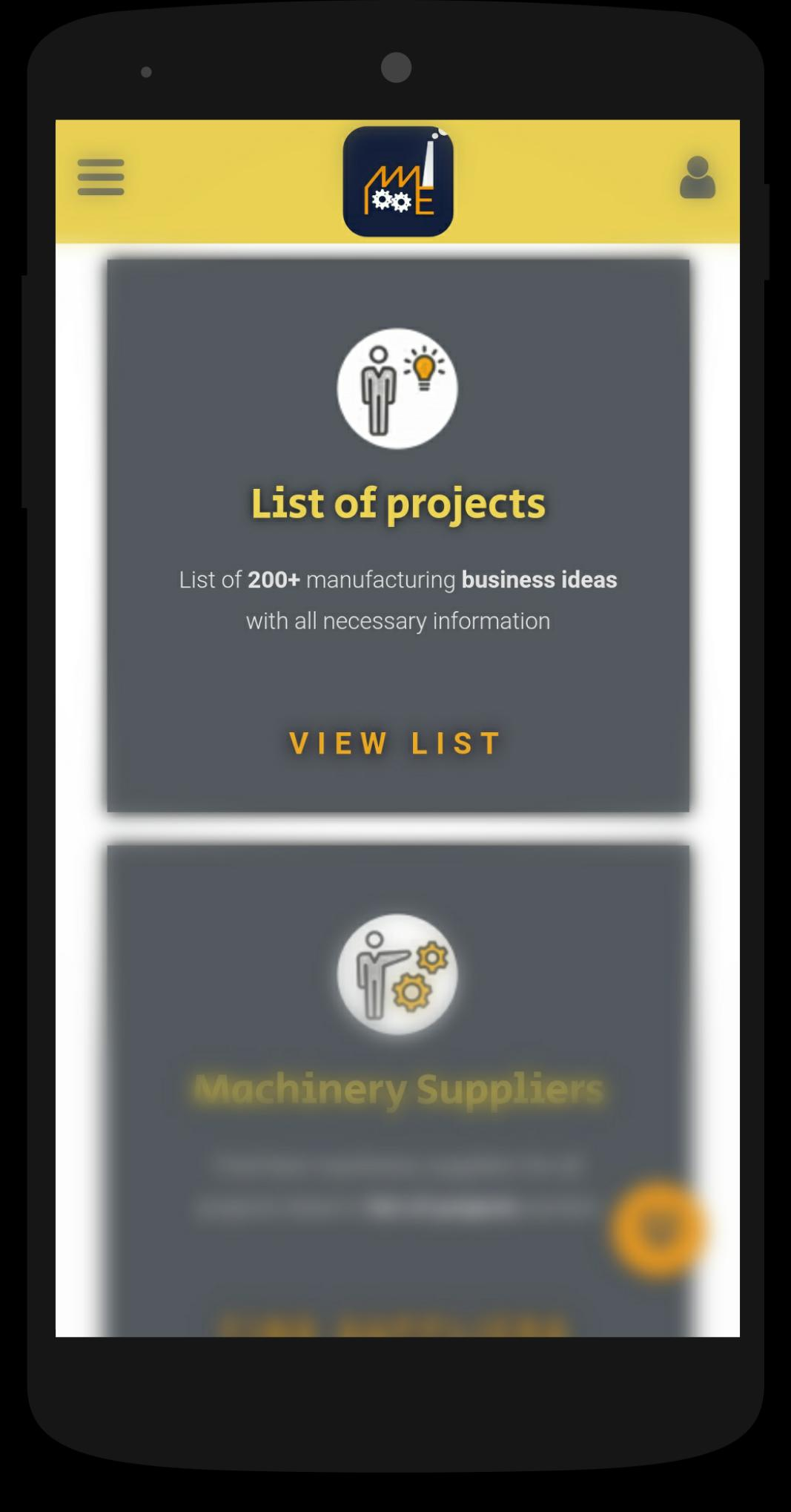 MME - Business ideas, complete business solution for Android
