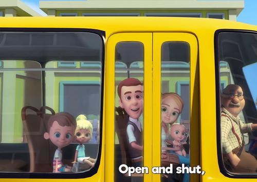 العجلات على الحافلة - The Wheels On The Bus screenshot 1