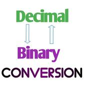 Decimal - Binary Conversion (Number System) icon