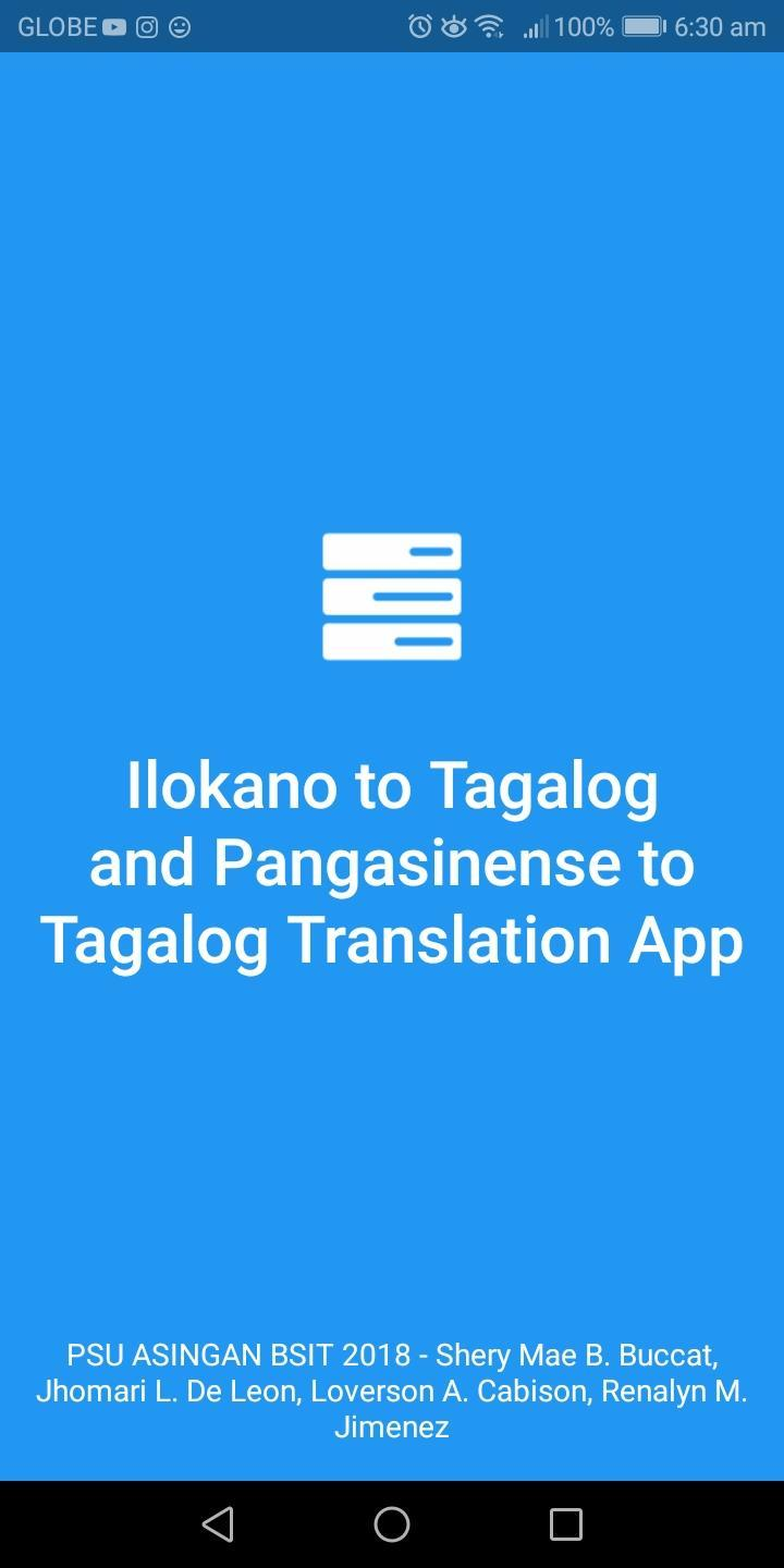 Ilocano to Tagalog & Pangasinense to Tagalog Dic  for