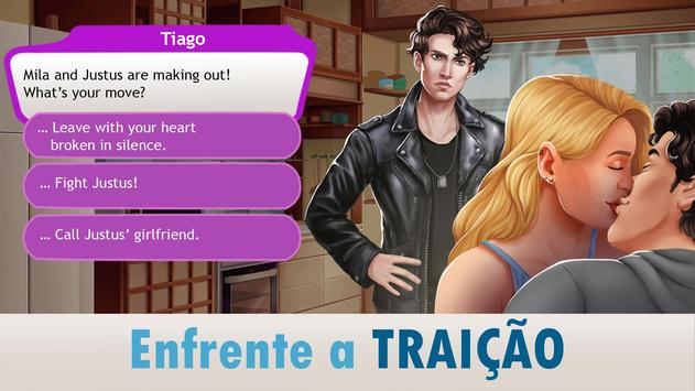 Amor & Namoro Romance 3D: Simulador de Vida Real imagem de tela 19