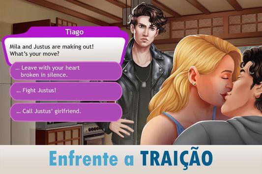Amor & Namoro Romance 3D: Simulador de Vida Real imagem de tela 3