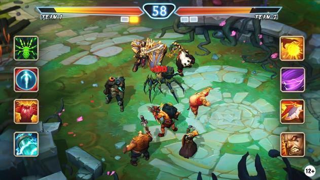 Legends Magic: Juggernaut Wars - raid RPG games screenshot 5