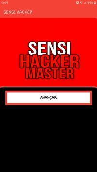 SENSI HACKER poster