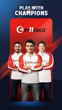 My11Circle - Official Fantasy Cricket App poster