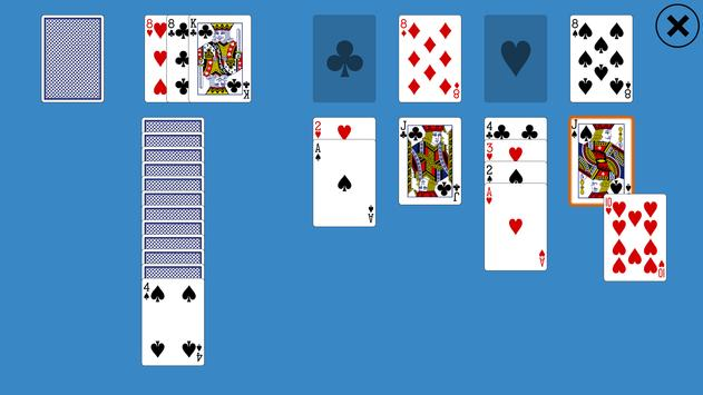 Classic Canfield Solitaire screenshot 2