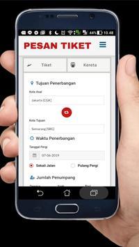 Pesan Tiket Online poster