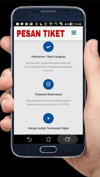 Pesan Tiket Online screenshot 1