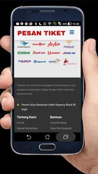 Pesan Tiket Online screenshot 3