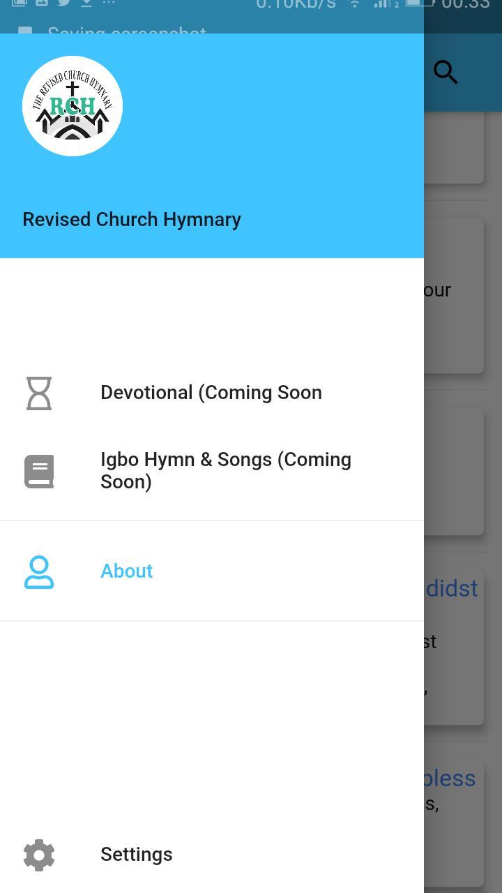 Presbyterian Revised Church Hymnary poster
