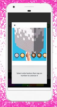 Coloring Fun Unicorn Color by Number 3D Pixel Art screenshot 4