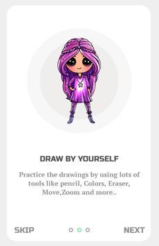 Draw American Doll Girls screenshot 1