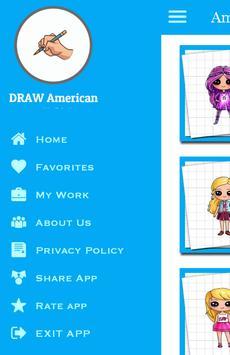 Draw American Doll Girls screenshot 4