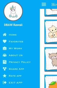 How to Draw Cute Kawaii Drawing screenshot 4