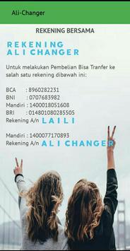 Ali-Changer screenshot 2