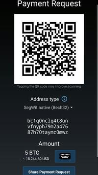 Mycelium Bitcoin Wallet screenshot 3
