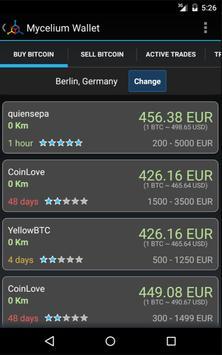 Mycelium Bitcoin Wallet imagem de tela 7