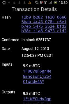 Mycelium Bitcoin Wallet screenshot 4