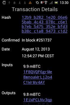 Mycelium Bitcoin Wallet imagem de tela 4
