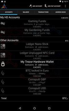 Mycelium Bitcoin Wallet imagem de tela 8