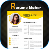 Fast cv maker-Build your pdf Resume icon
