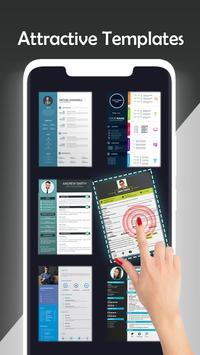 Fast cv maker-Build your pdf Resume screenshot 2