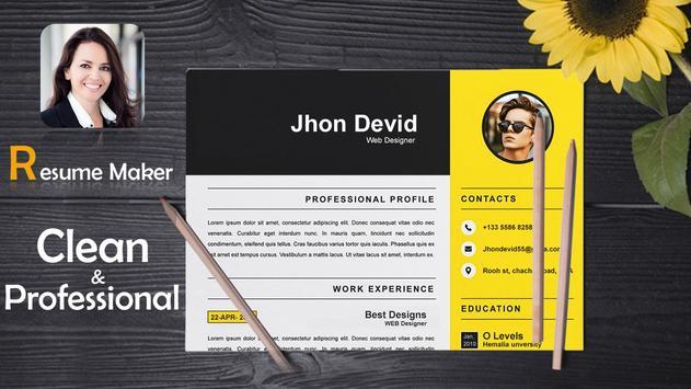 Fast cv maker-Build your pdf Resume screenshot 6