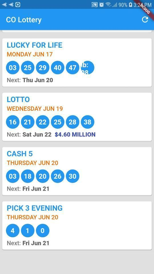 CO Lottery: Colorado Lottery Results for Android - APK Download