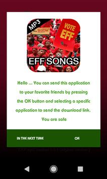 Economic Freedom Fighters Songs - MP3 screenshot 4