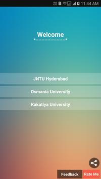 University info Ap/Ts poster