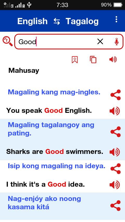 Tagalog English Dictionary Offline For Android Apk Download