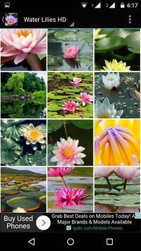 Water Lilies Flower Wallpaper screenshot 6