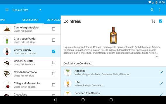 8 Schermata Il Mio Cocktail Bar